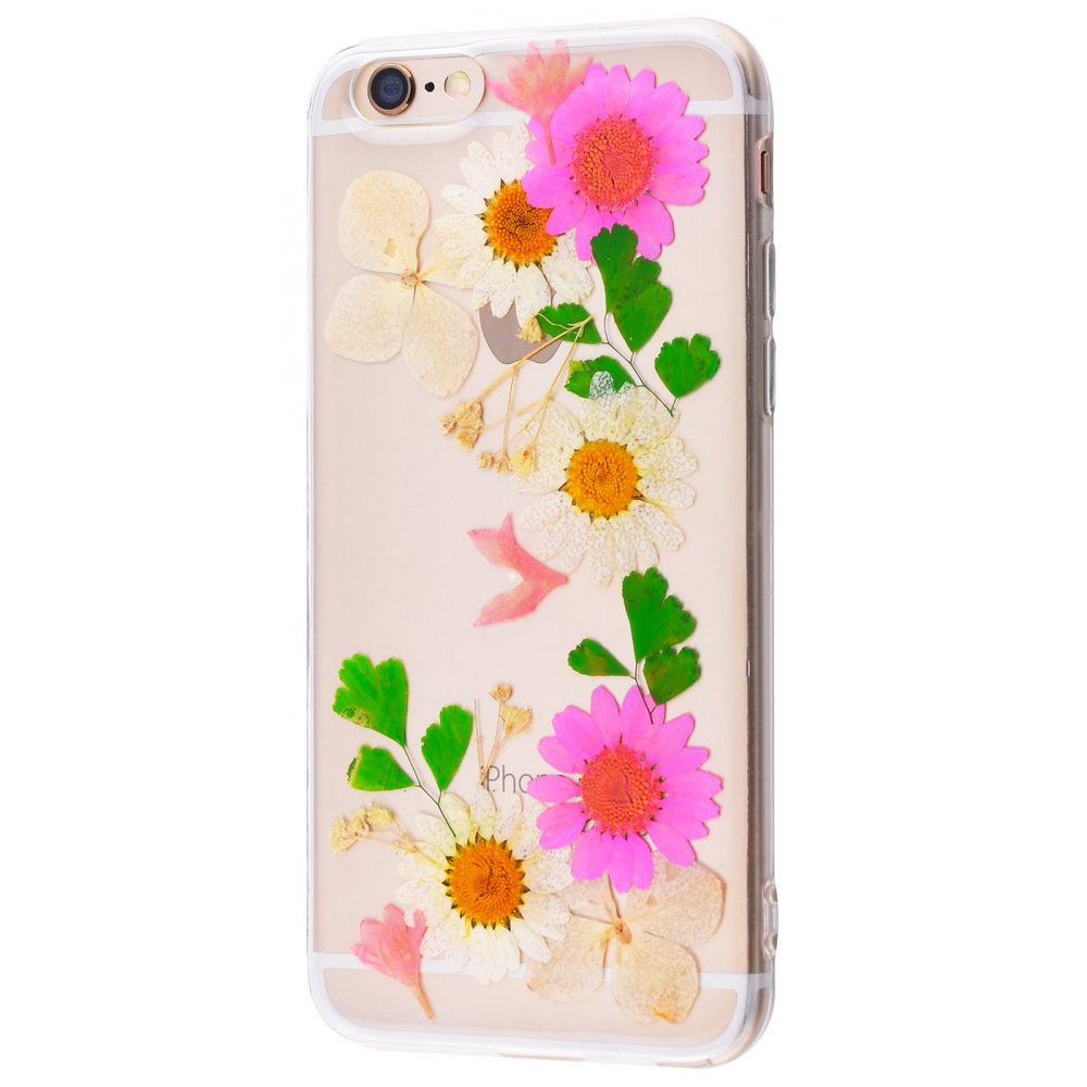 Nature flowers silicone case (TPU) iPhone 6/6s - фото 4
