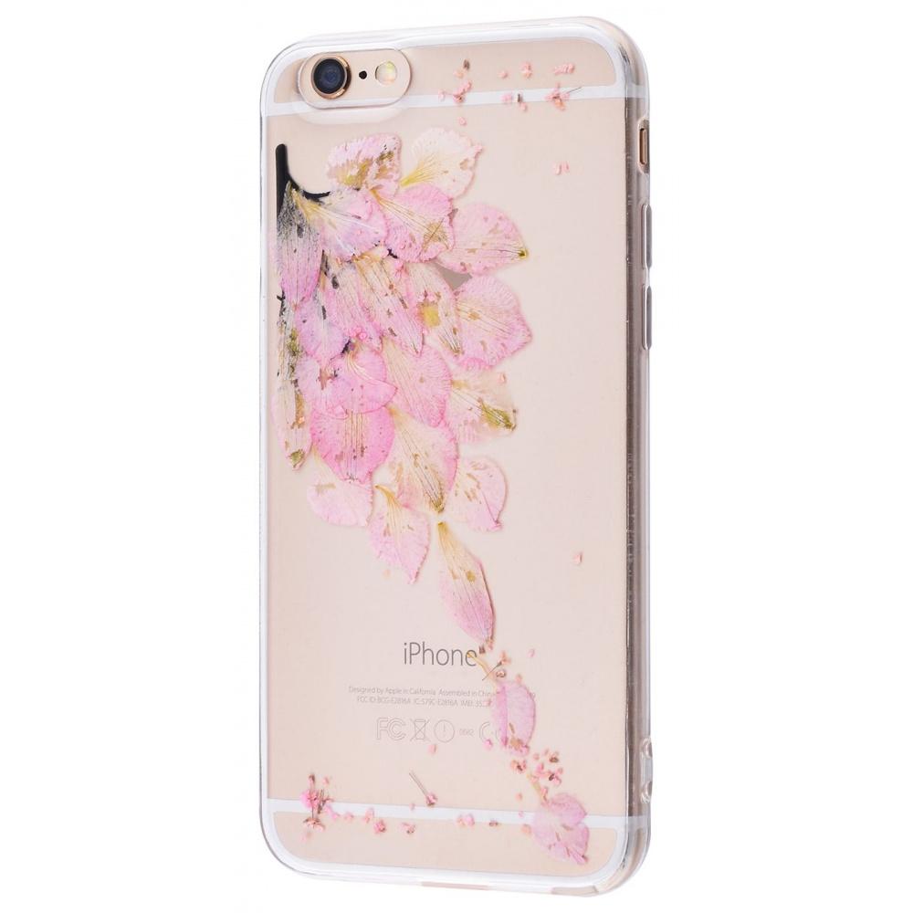 Nature flowers silicone case (TPU) iPhone 6/6s - фото 3