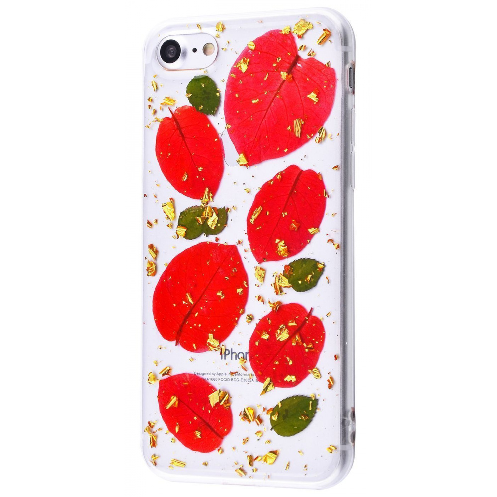 Nature flowers silicone case (TPU) iPhone 7/8/SE 2 - фото 5