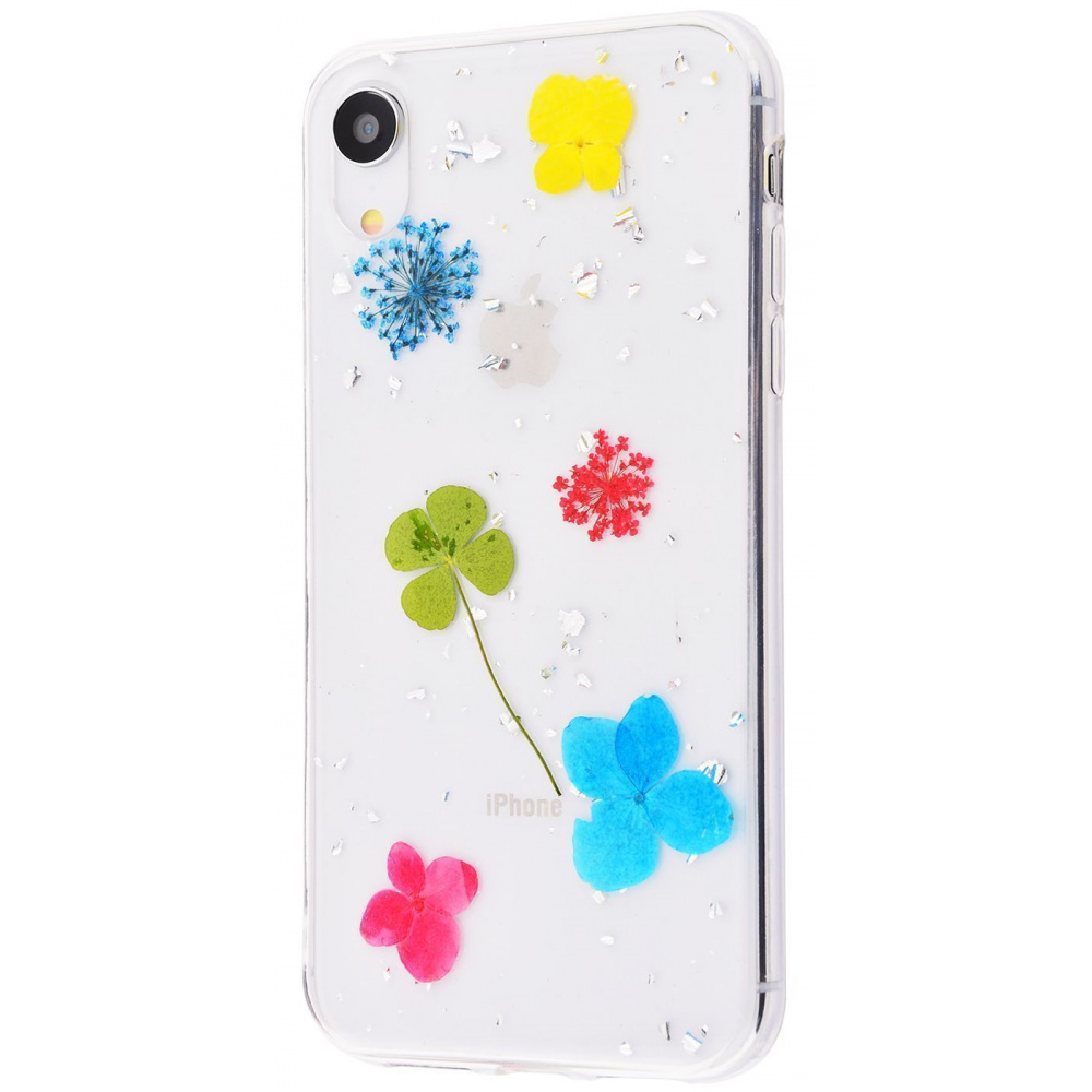 Nature flowers silicone case (TPU) iPhone Xr - фото 10