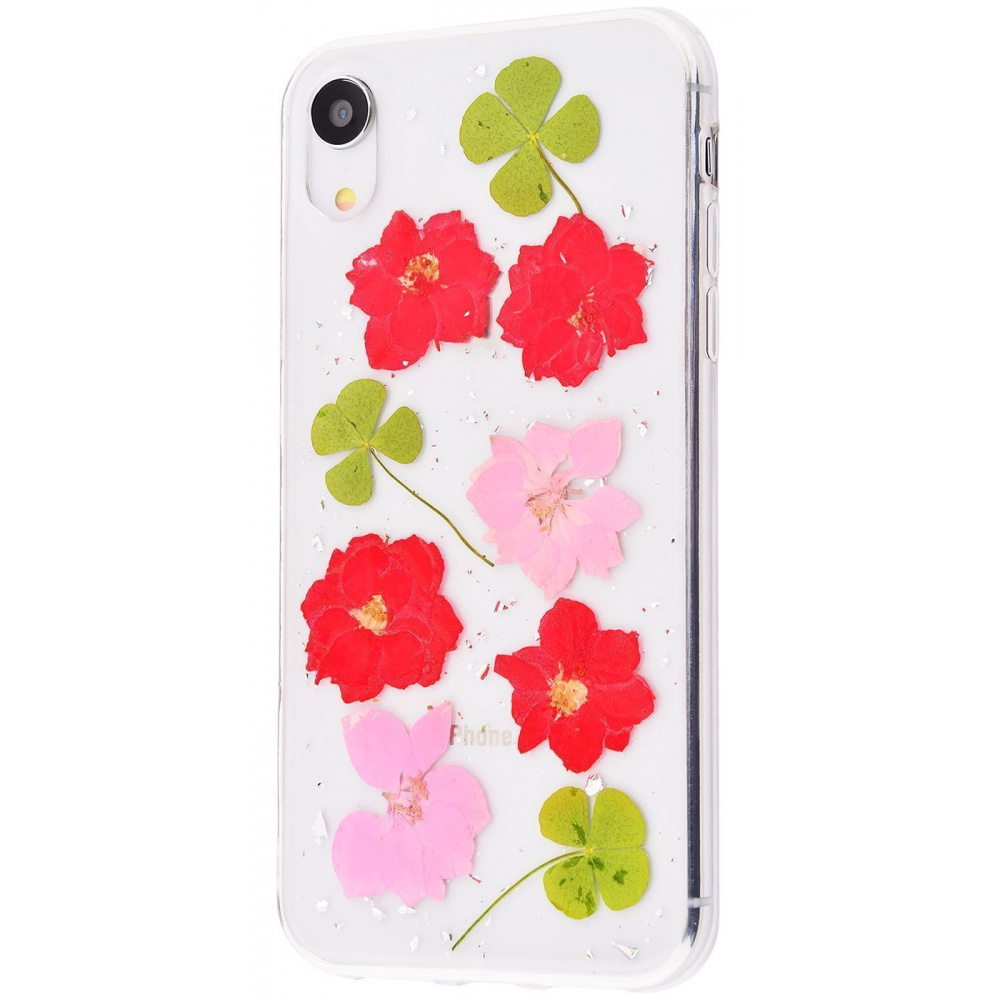 Nature flowers silicone case (TPU) iPhone Xr - фото 6