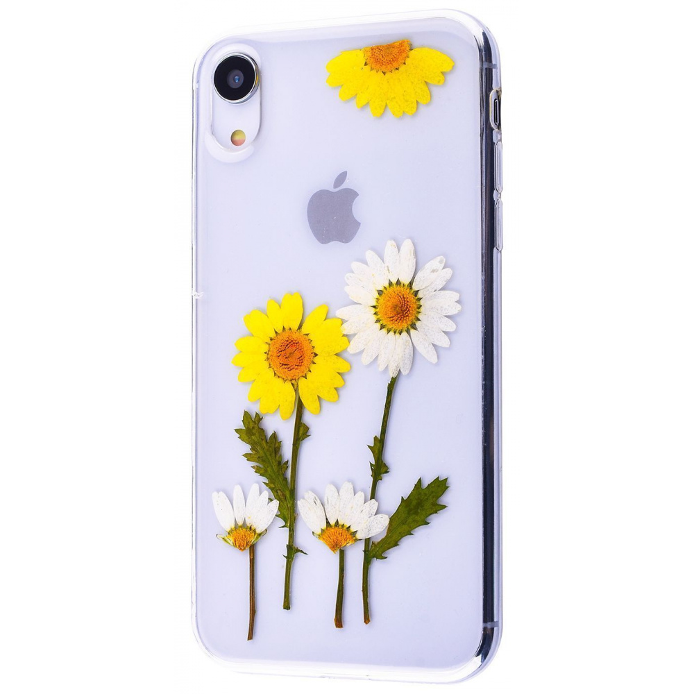 Nature flowers silicone case (TPU) iPhone Xr - фото 3