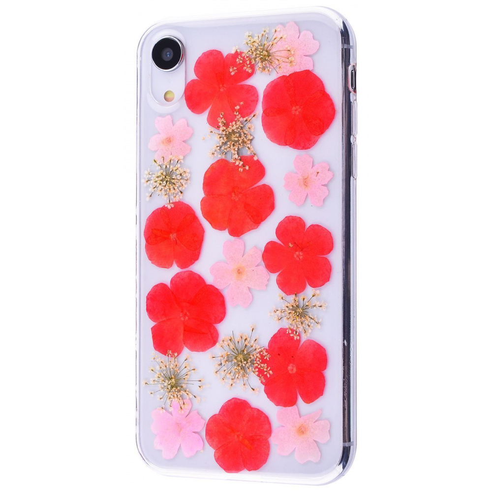 Nature flowers silicone case (TPU) iPhone Xr - фото 1