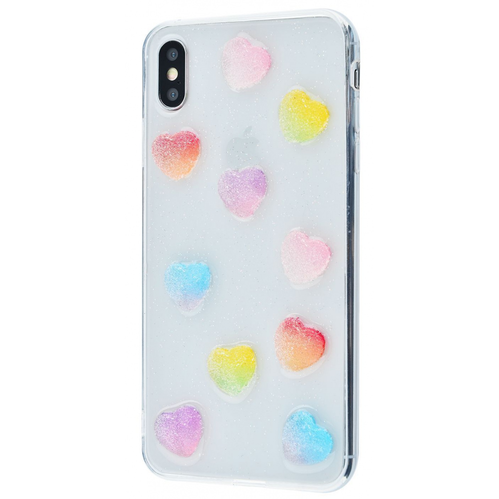 Silicone Candy case (TPU) iPhone Xs Max - фото 3