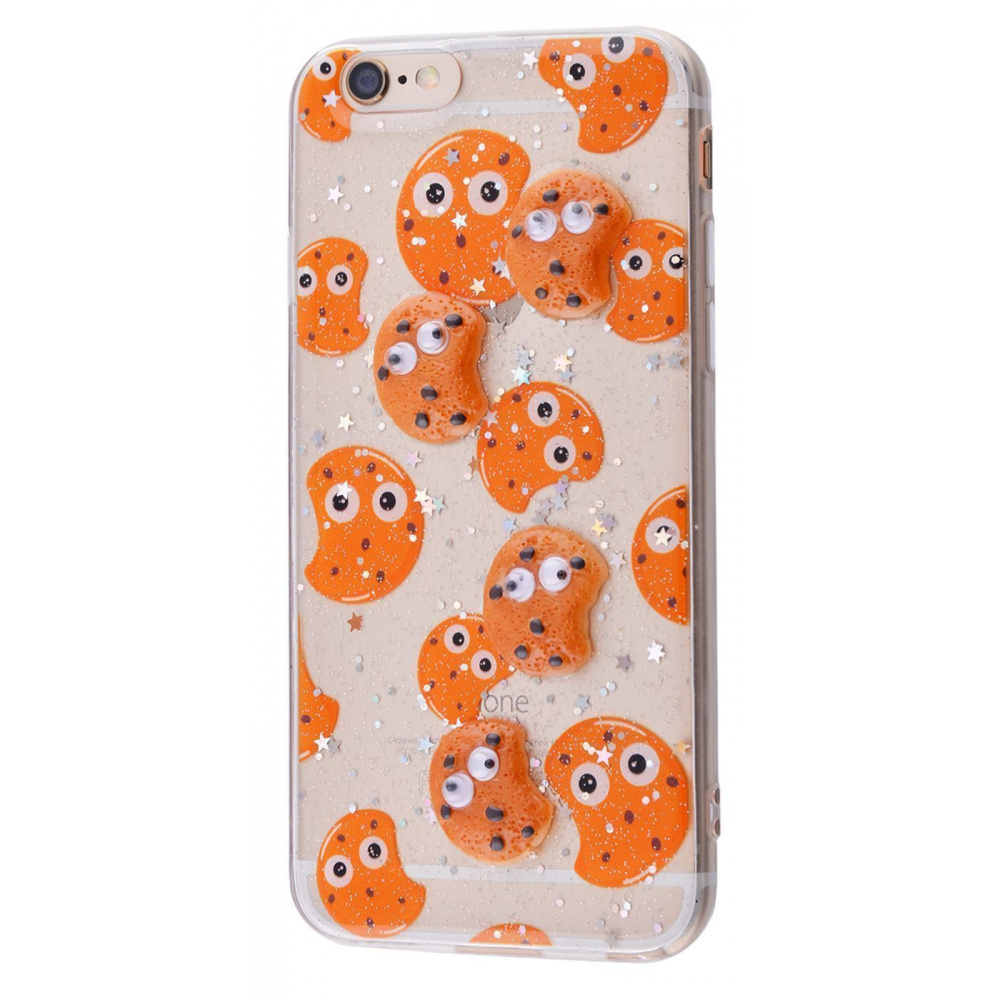 Sweet silicone 3D Case (TPU) iPhone 6/6s - фото 2
