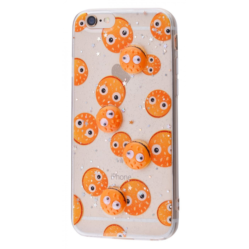Sweet silicone 3D Case (TPU) iPhone 6/6s - фото 1
