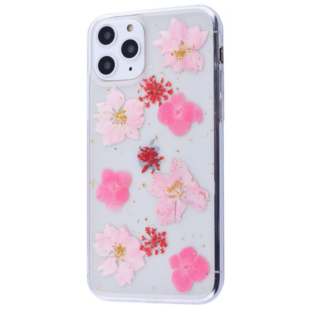 Nature flowers silicone case (TPU) iPhone 11 Pro - фото 3