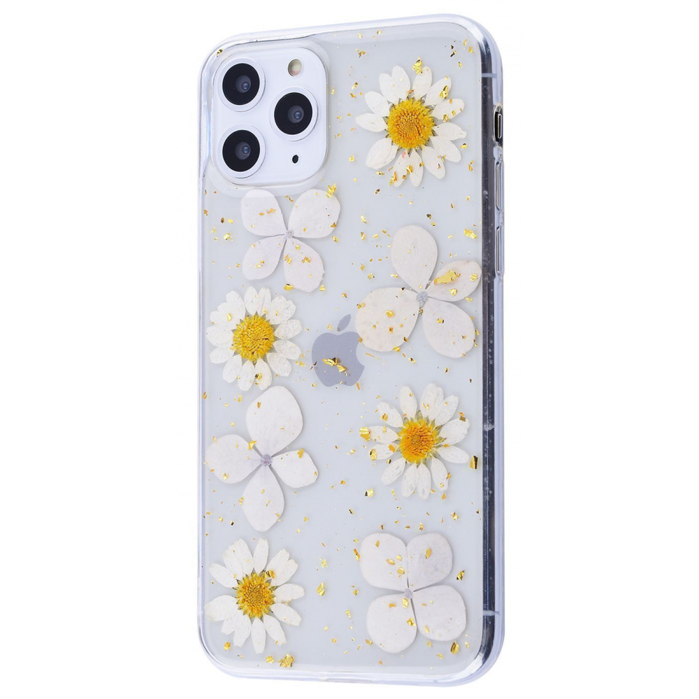 Nature flowers silicone case (TPU) iPhone 11 Pro - фото 2