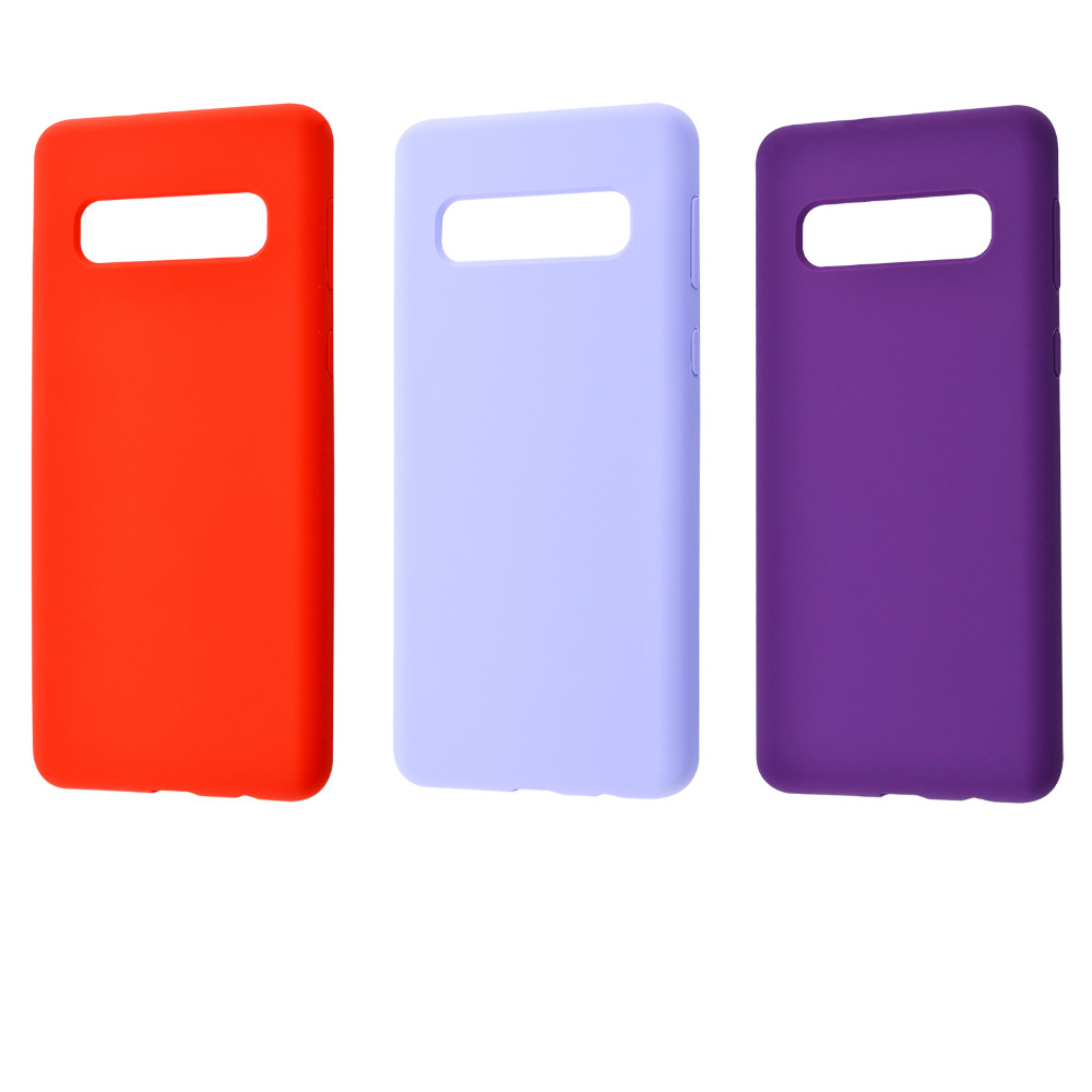 WAVE Full Silicone Cover Samsung Galaxy S10