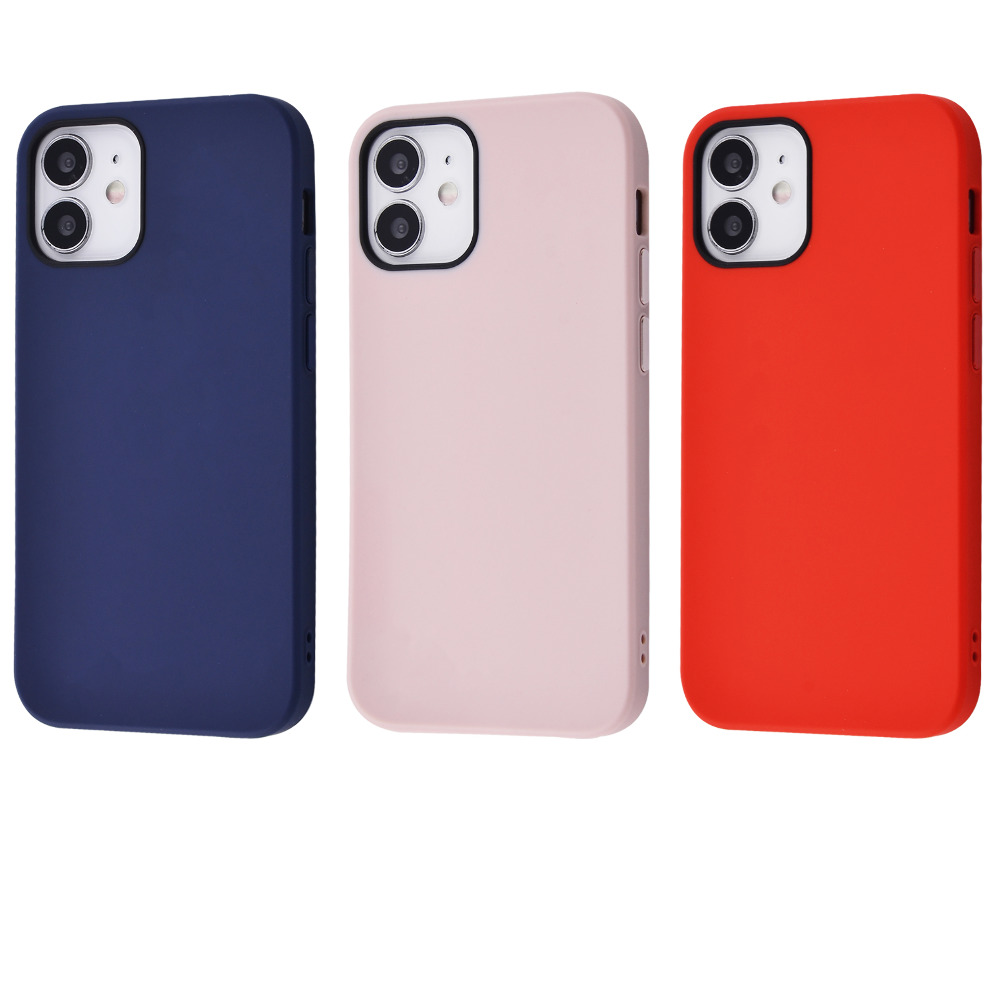 TOTU Soft Colorful Case Metal Buttons (PC) iPhone 12 mini