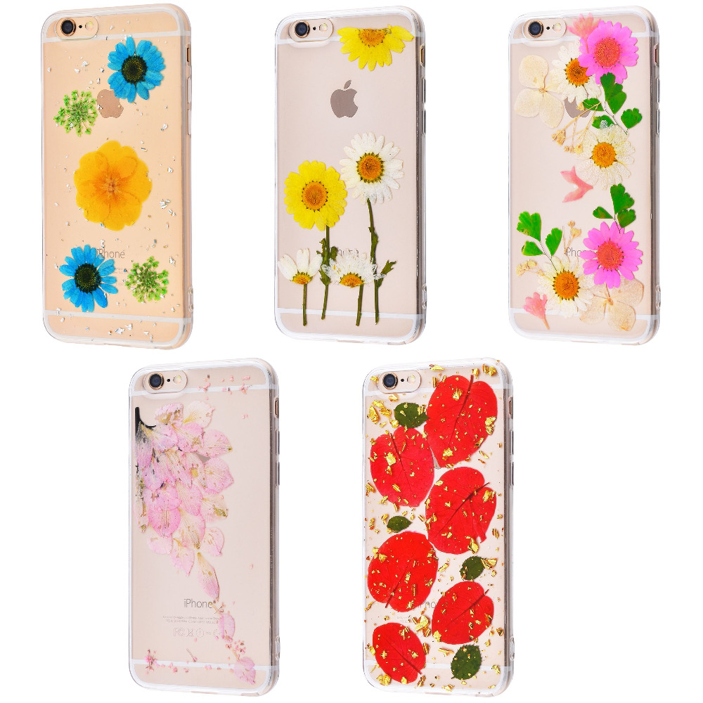 Nature flowers silicone case (TPU) iPhone 6/6s
