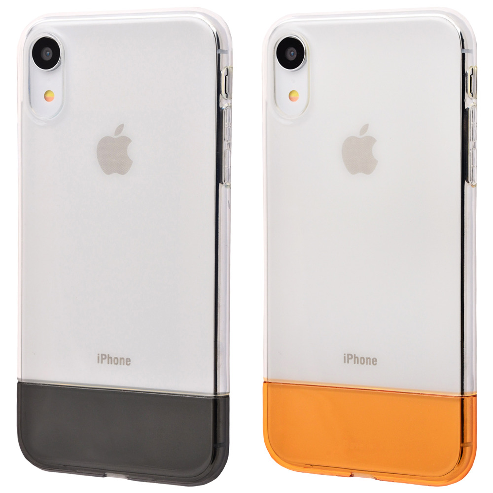 Baseus Half to Half soft Case (TPU) iPhone Xr