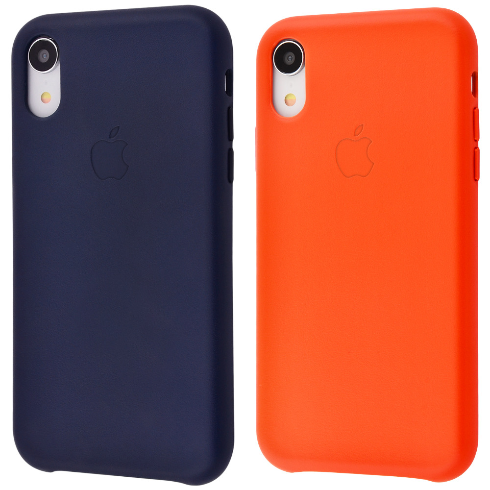 Leather case (Leather) iPhone Xr
