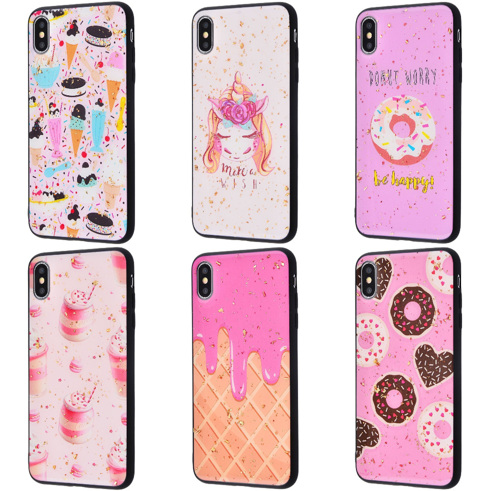 Confetti Fashion case My style (TPU) iPhone Xs Max