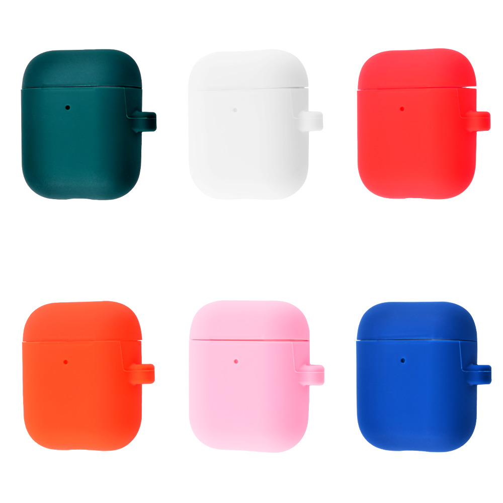 Silicone Case Slim with Carbine for AirPods 2