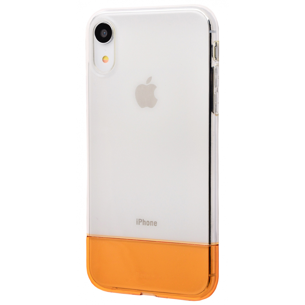 Baseus Half to Half soft Case (TPU) iPhone Xr - фото 2