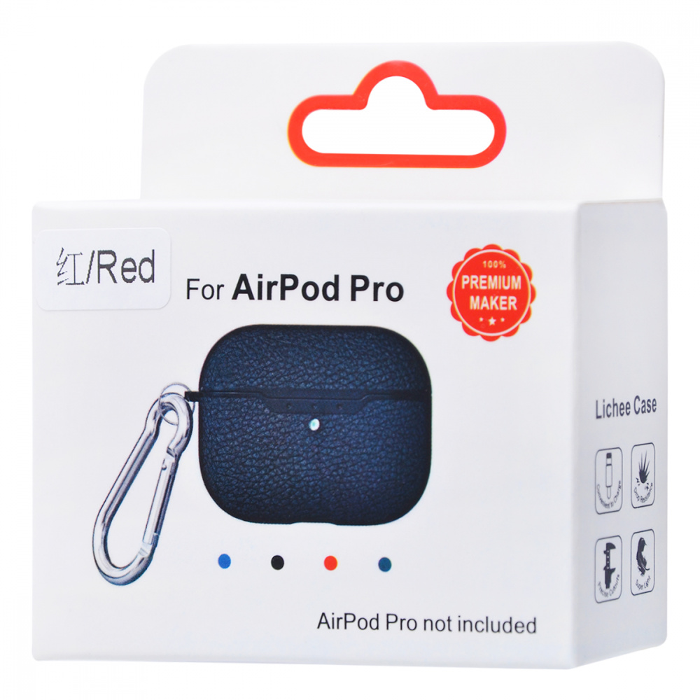 Leather Imitation (TPU) Case for AirPods Pro - фото 1