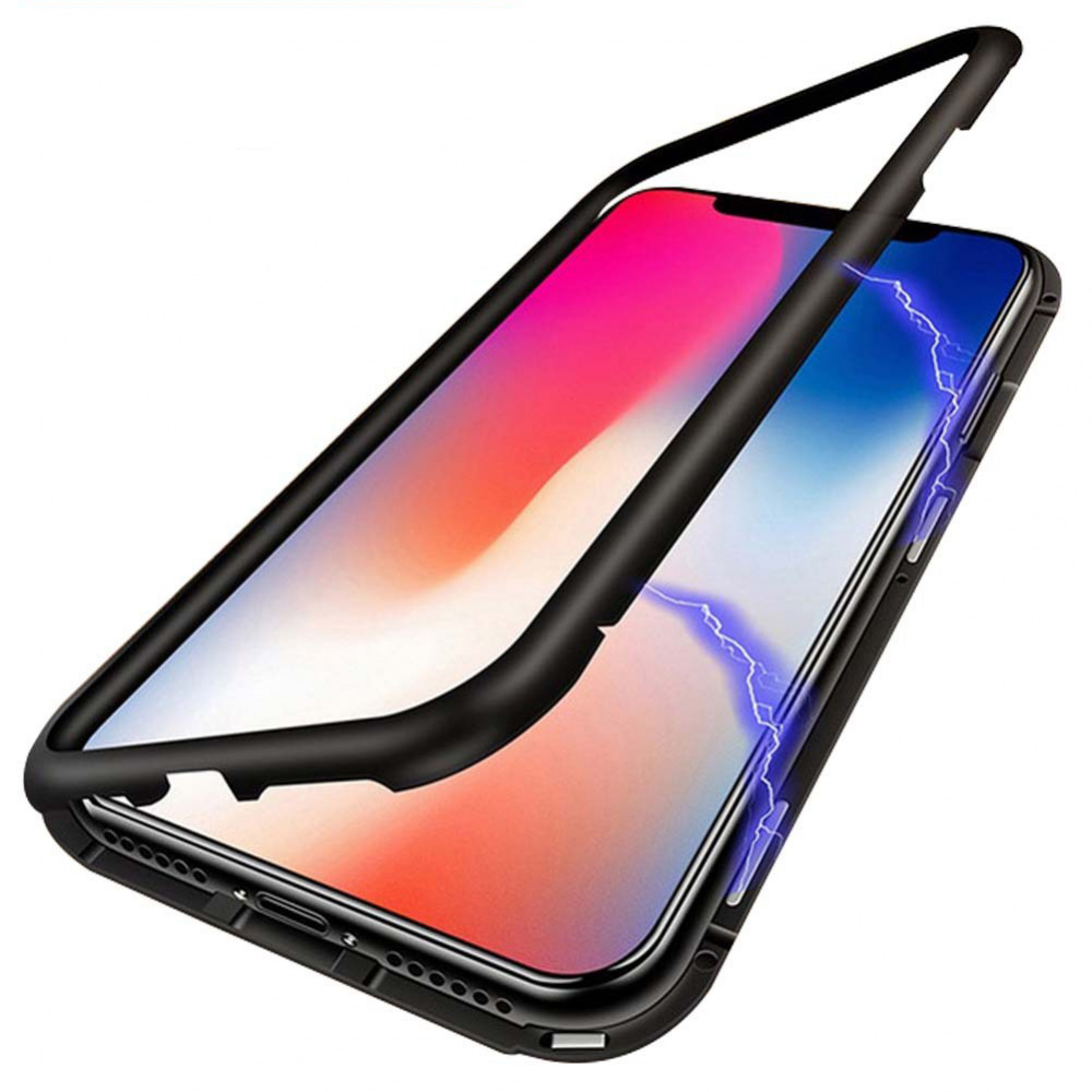 Magnette glass case Full 360 iPhone X - фото 1
