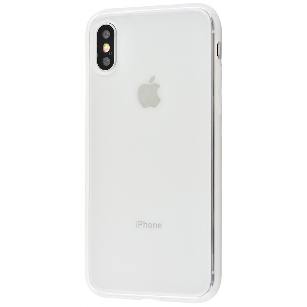 High quality silicone 360 protect iPhone Xs Max - фото 1