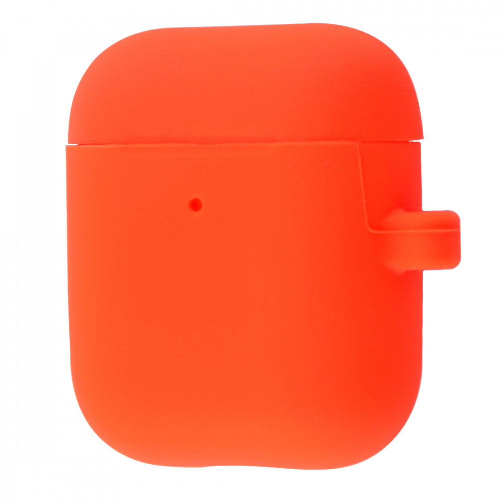 Silicone Case Slim with Carbine for AirPods 2 - фото 7