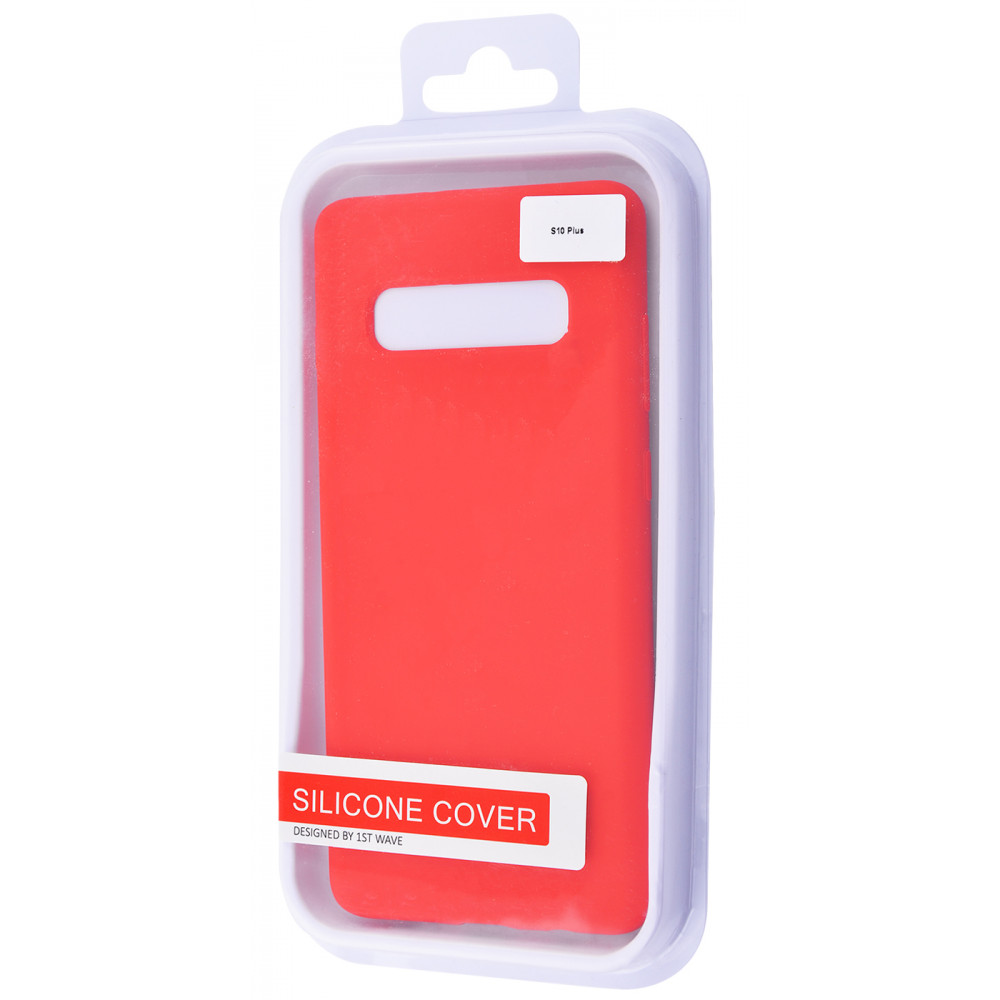 WAVE Full Silicone Cover Samsung Galaxy S10 Plus - фото 1