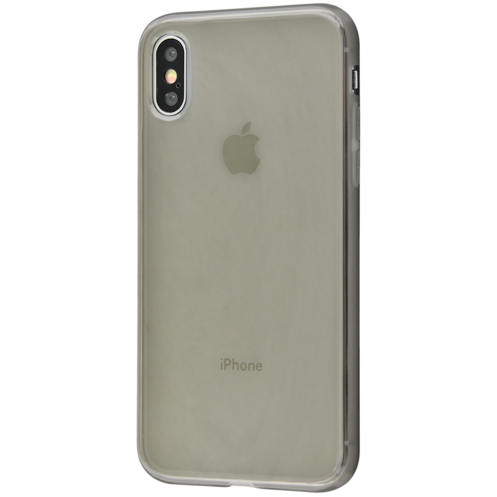 High quality silicone 360 protect iPhone Xs Max - фото 2