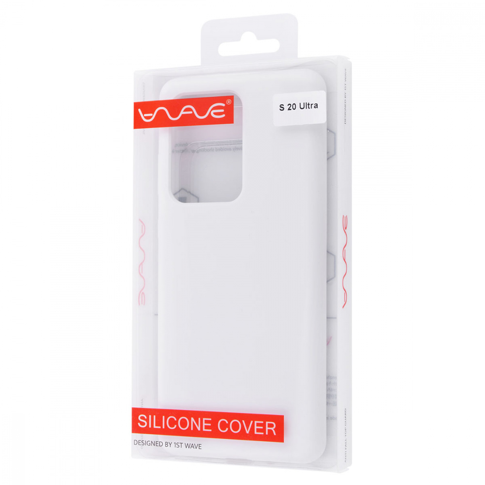 WAVE Full Silicone Cover Samsung Galaxy S20 Ultra - фото 1