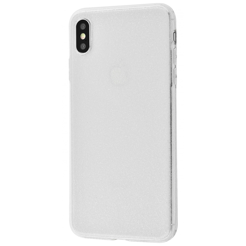 High quality silicone with sparkles 360 protect iPhone Xs Max