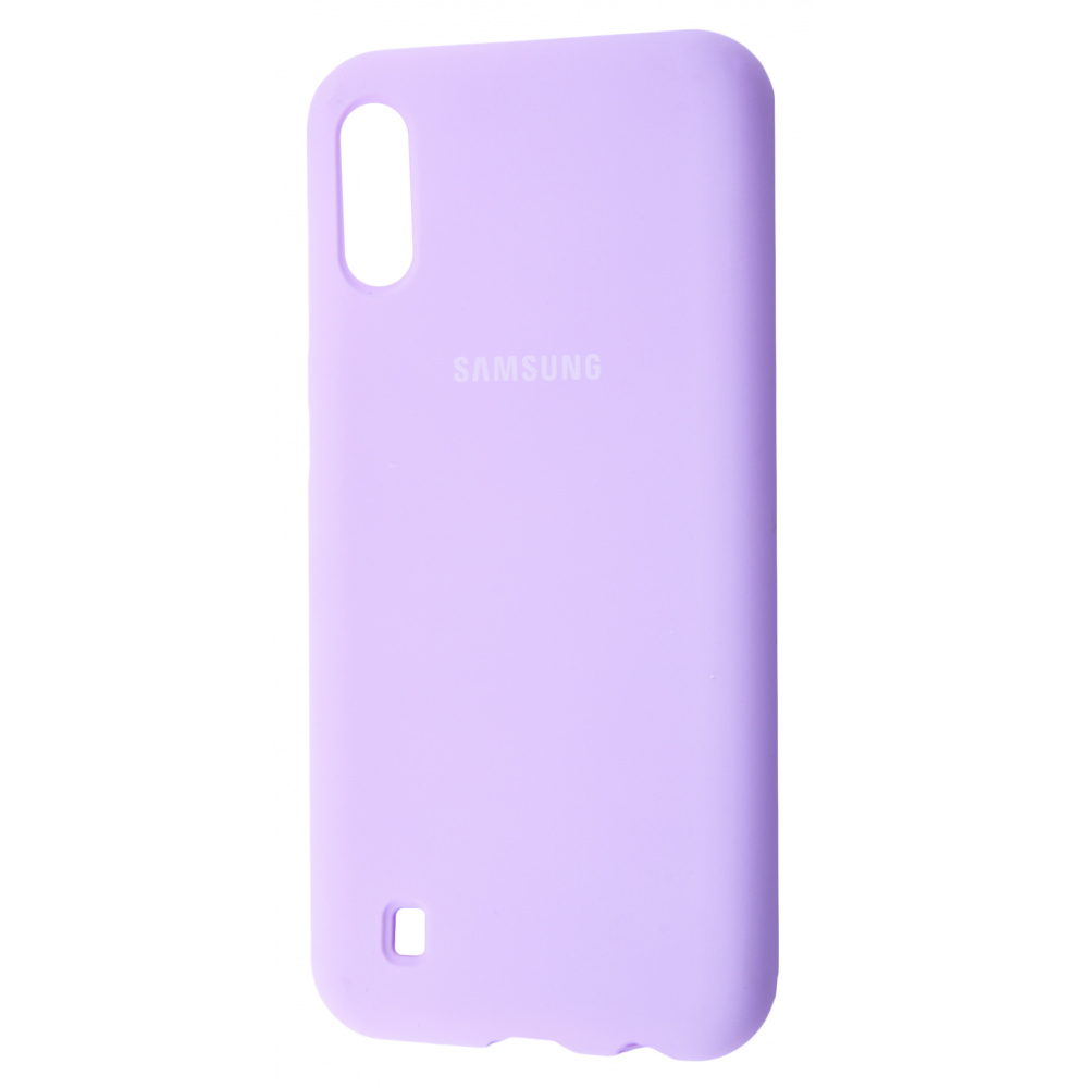 Silicone Cover Full Protective Samsung Galaxy M10 (M105F) - фото 5