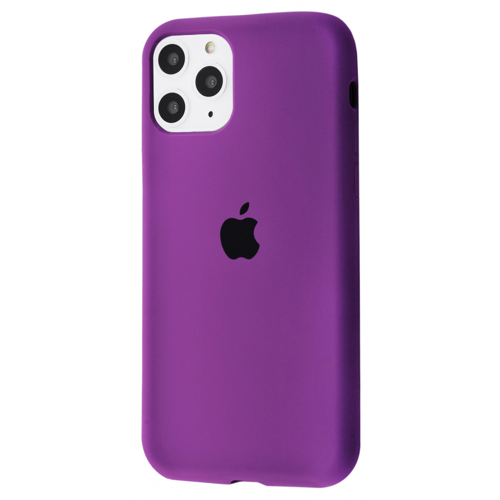 Silicone Case Full Cover iPhone 11 Pro Max - фото 30