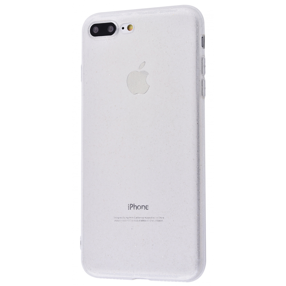High quality silicone with sparkles 360 protect iPhone 7 Plus/8 Plus
