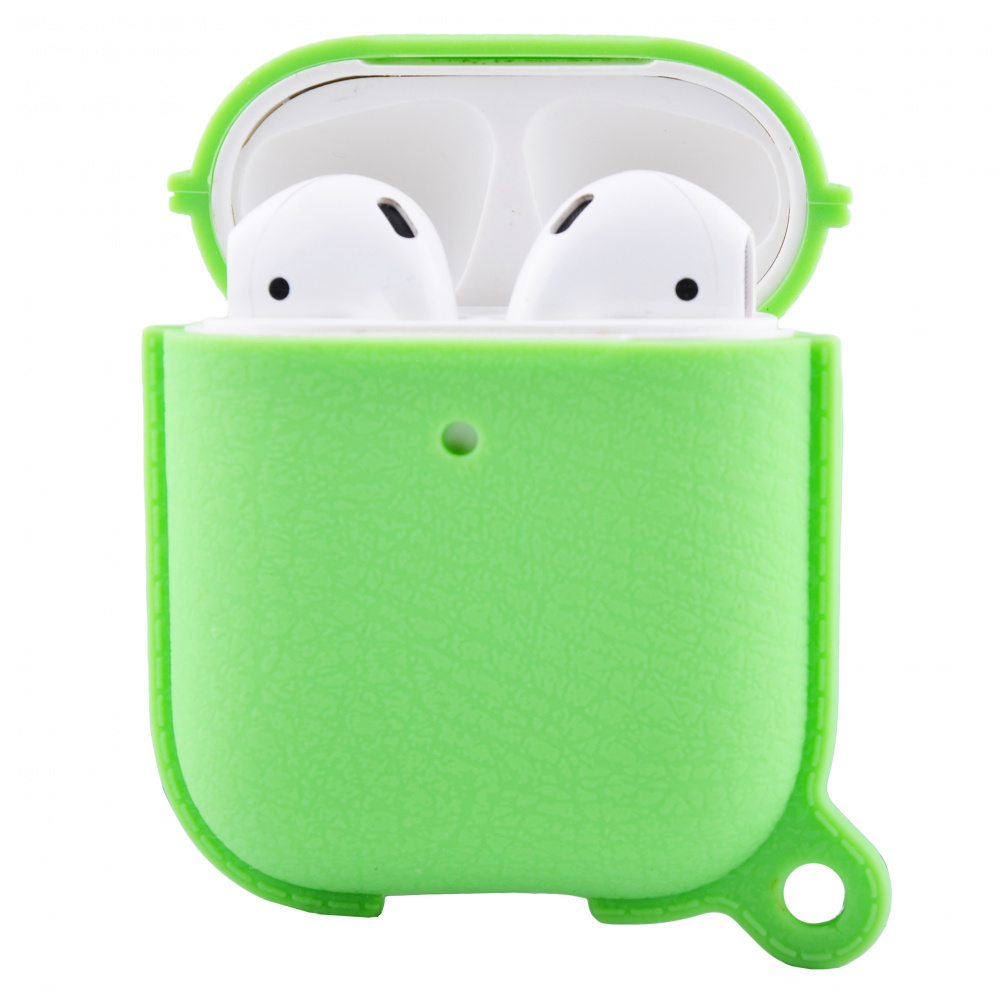Silicone Leather Case for AirPods 1/2 - фото 2