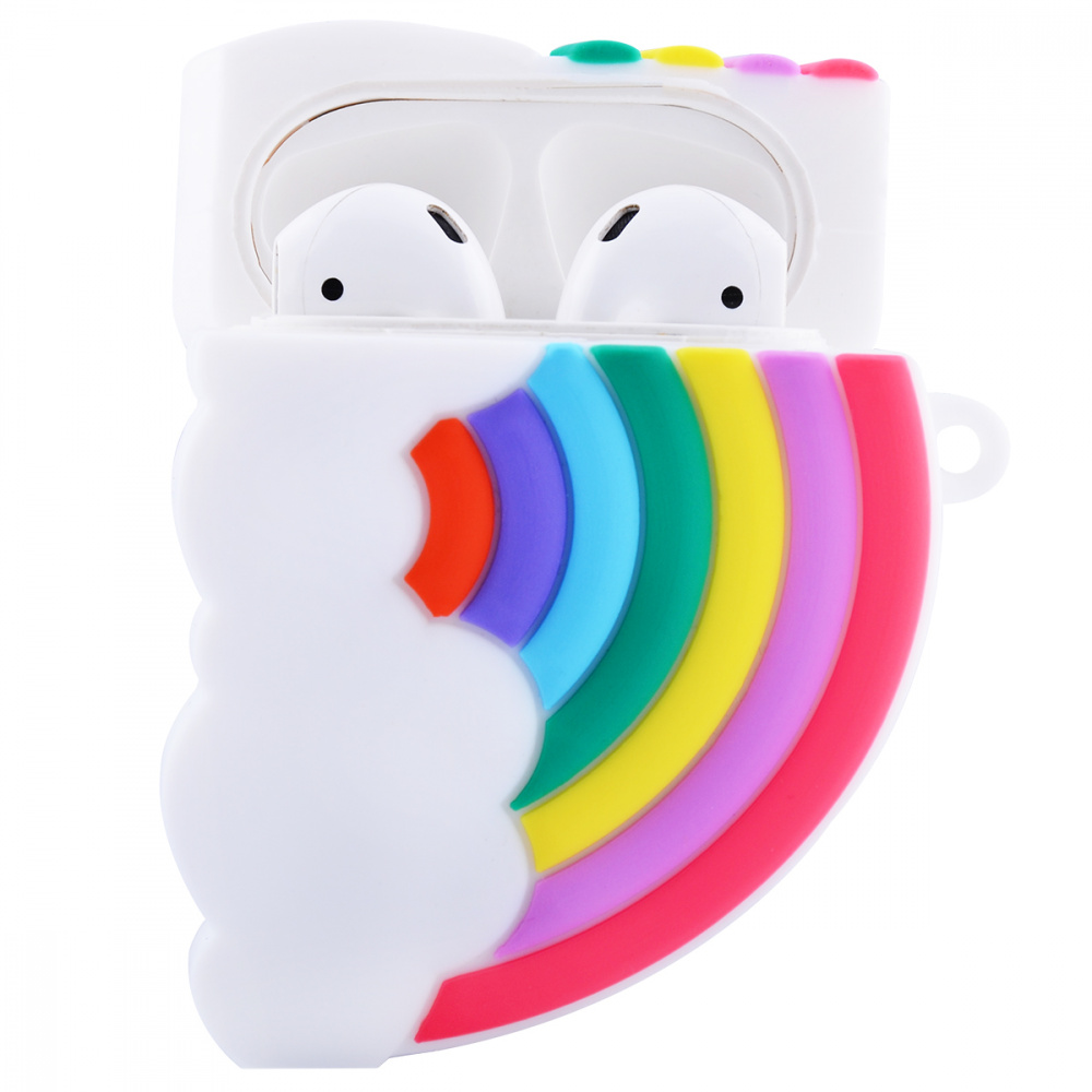 Rainbow and Cloud Case for AirPods - фото 2