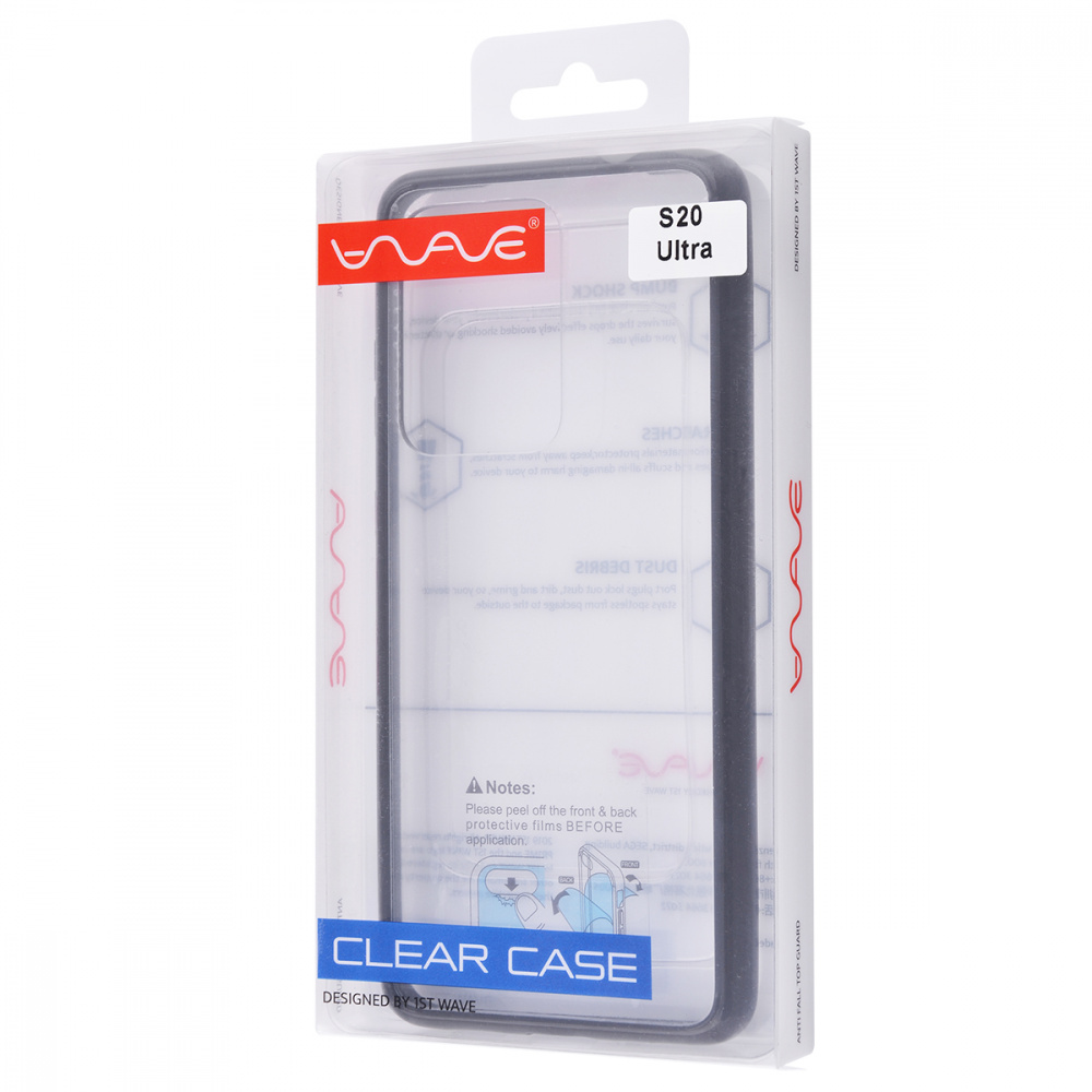WAVE Clear Case (PC+TPU) Samsung Galaxy S20 Ultra - фото 1