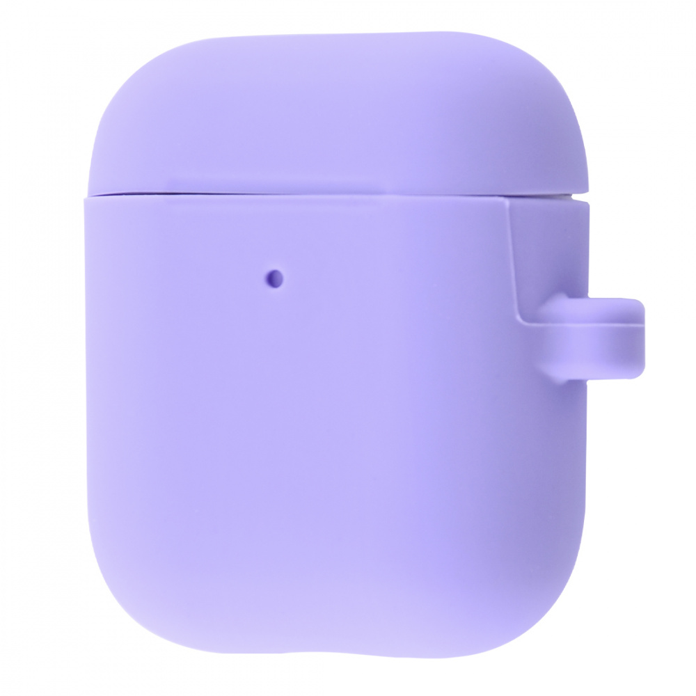 Silicone Case Slim with Carbine for AirPods 2 - фото 12