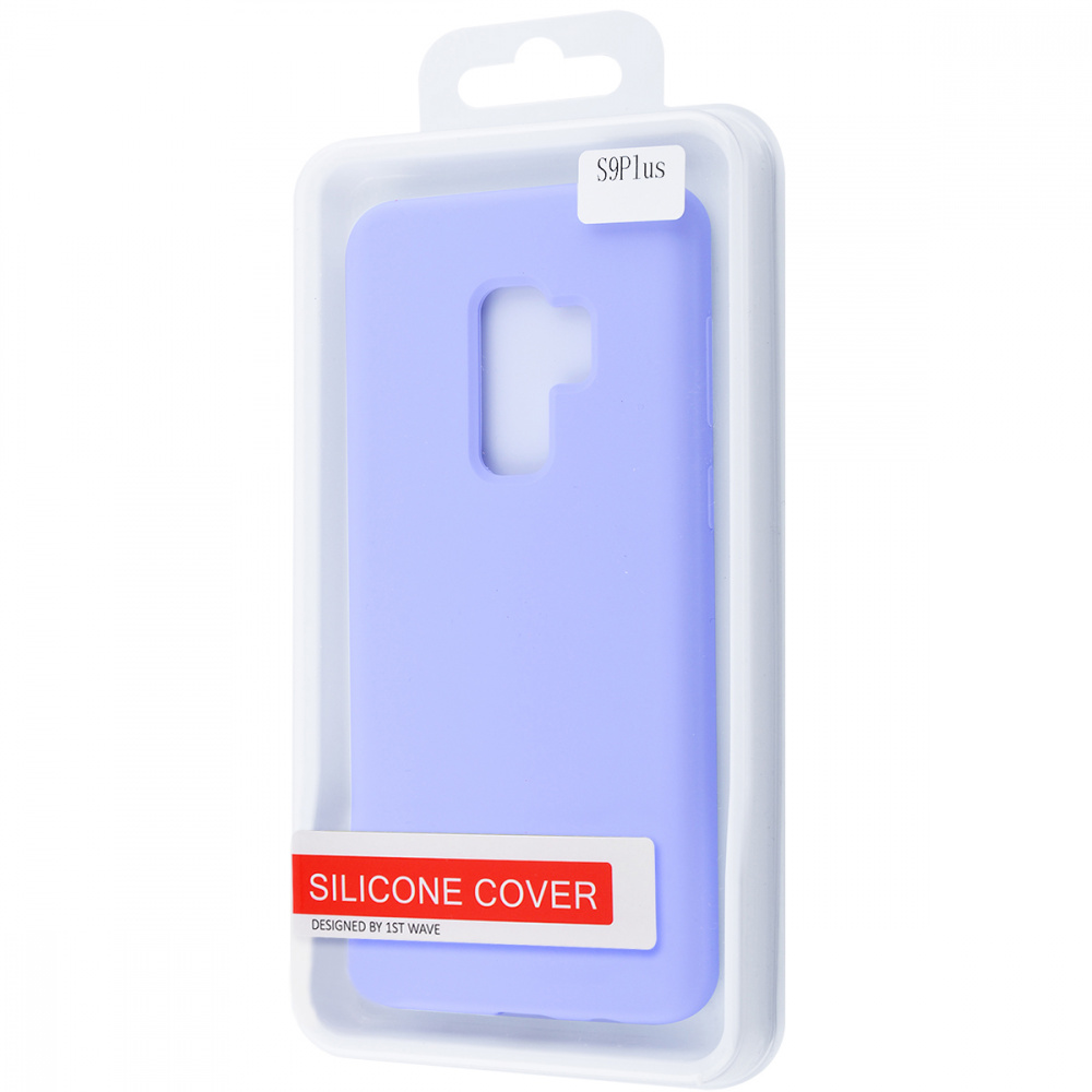 WAVE Full Silicone Cover Samsung Galaxy S9 Plus - фото 1