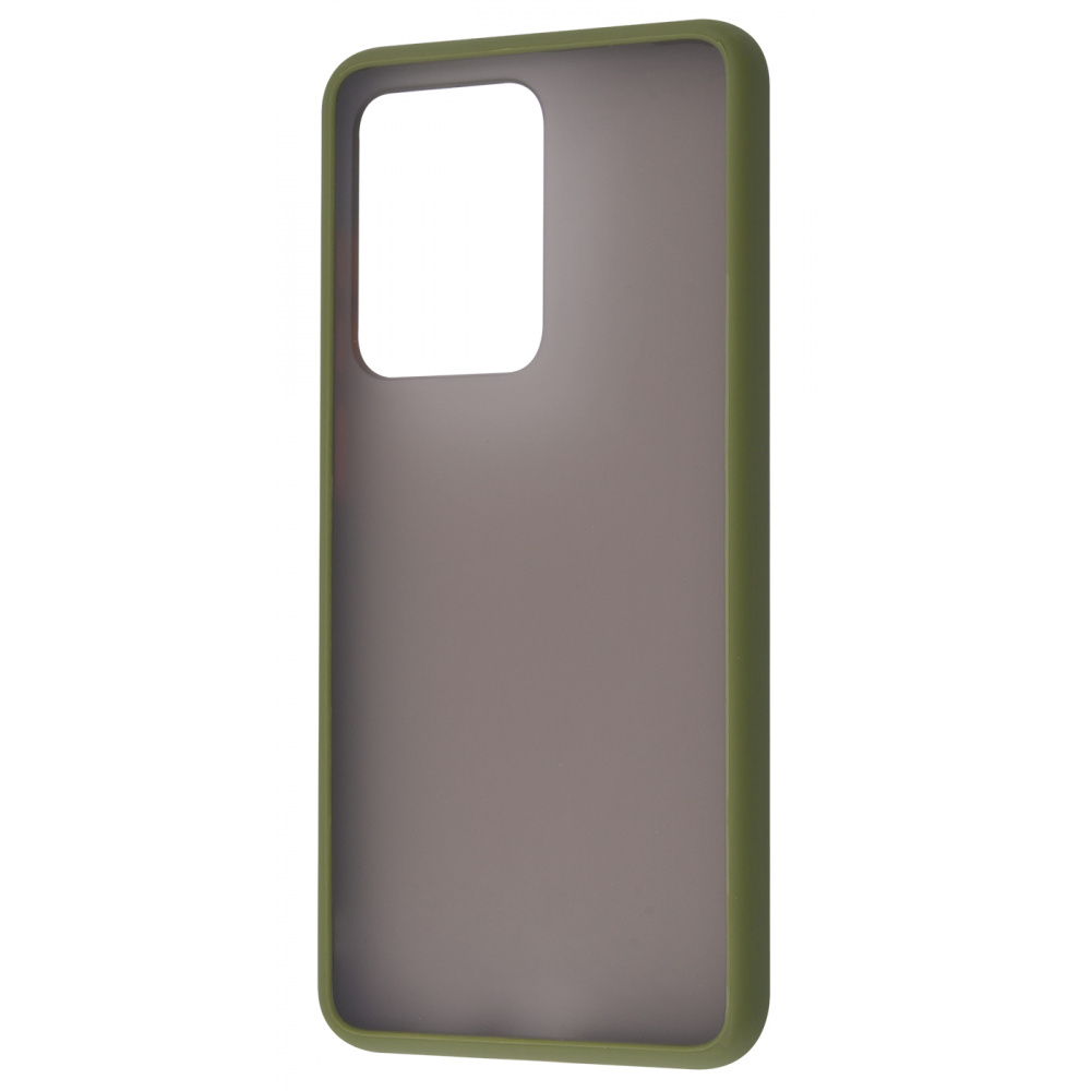 Matte Color Case (TPU) Samsung Galaxy S20 Ultra - фото 2