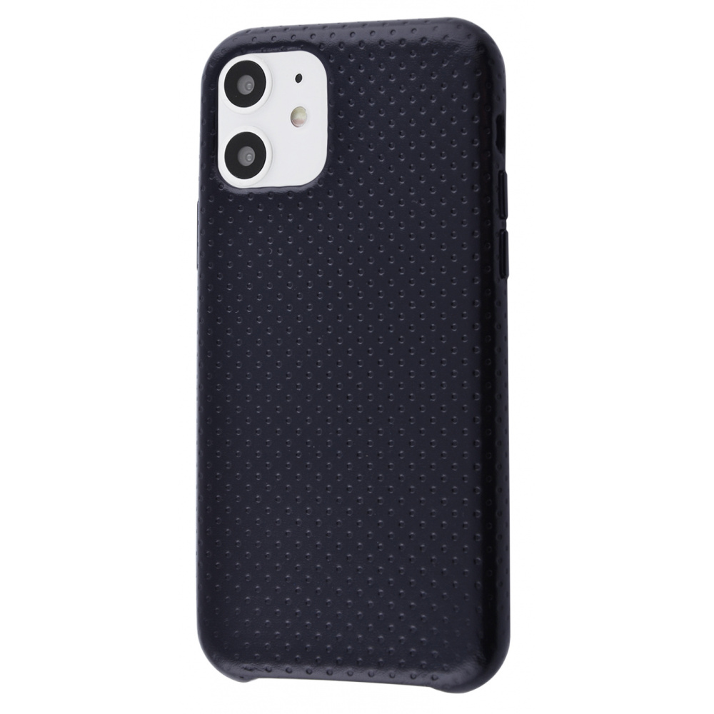 Natural Leather Perfo iPhone 11
