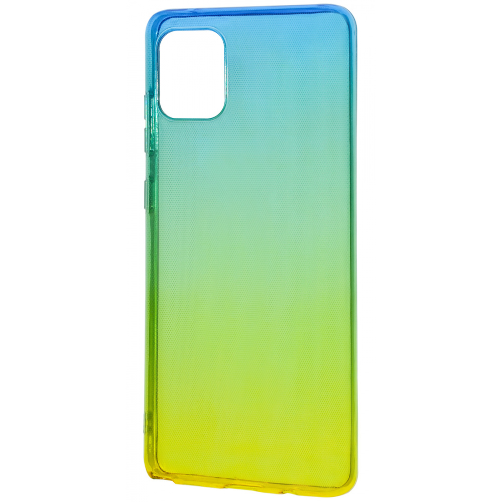 Силикон 0.5 mm Gradient Design Samsung Galaxy Note 10 Lite (N770F) - фото 1