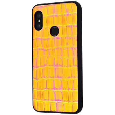 Купить Holographic Leather Case Xiaomi Mi A2 Lite/Redmi 6 Pro 20725 - Ncase