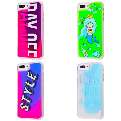 Купить Lovely Stream Neon iPhone 6/6s Plus/7 Plus/8 Plus 20972 - Ncase