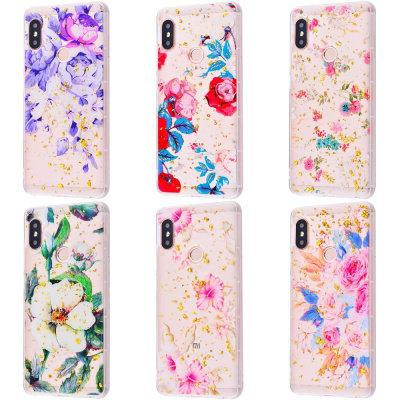 Купить Beauty Flowers Confetti Samsung Galaxy A9 2018 (A920F) 21324 - Ncase