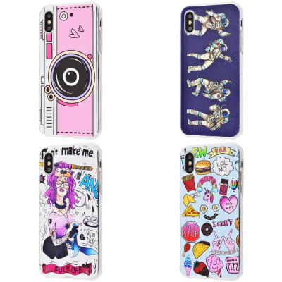 Купить Lovely Case Young Style (TPU) iPhone Xs Max 21620 - Ncase