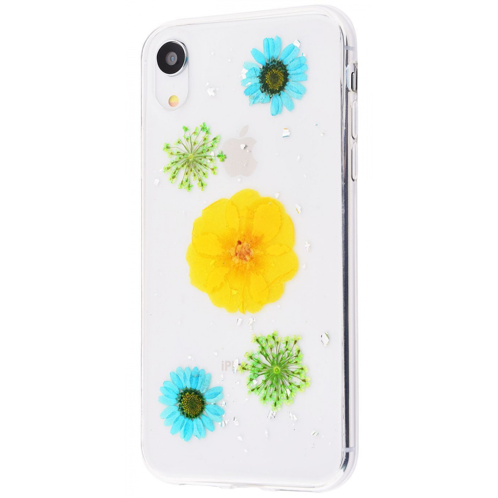Nature flowers silicone case (TPU) iPhone Xr - фото 8