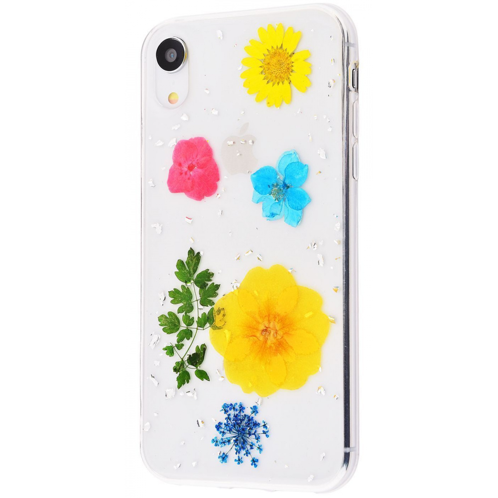 Nature flowers silicone case (TPU) iPhone Xr - фото 7