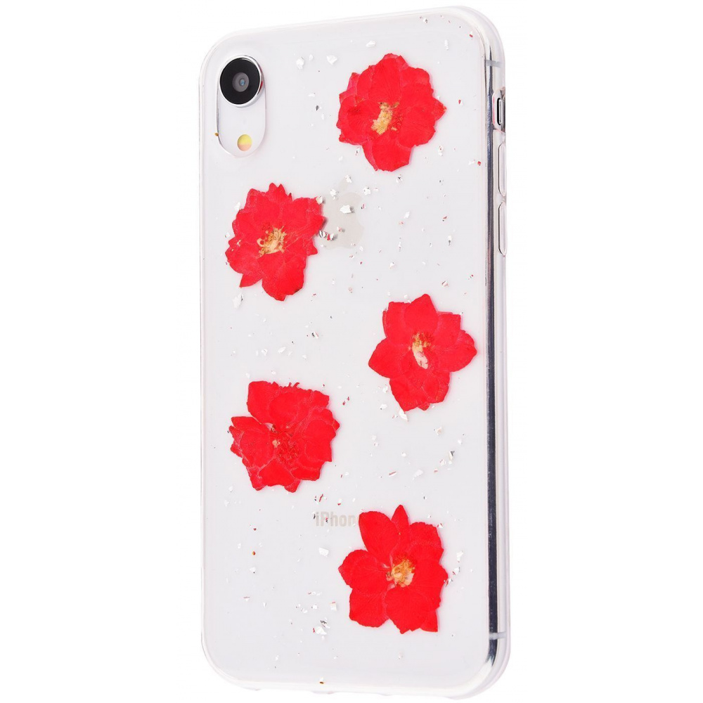 Nature flowers silicone case (TPU) iPhone Xr - фото 5