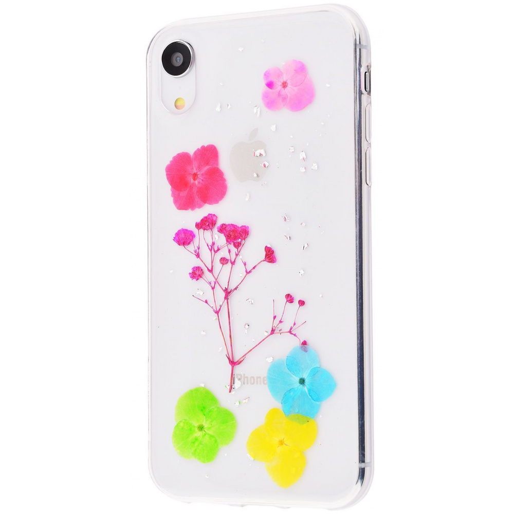 Nature flowers silicone case (TPU) iPhone Xr - фото 4