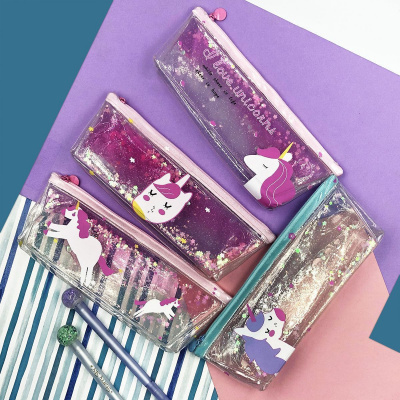 Купить Пенал 7-th Days with Sparkles and Water Unicorn Print 22426 - Ncase