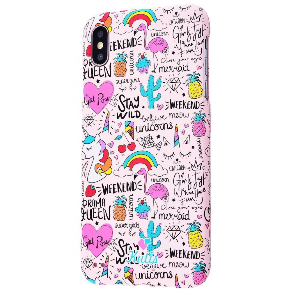 Kutis Protect Case 360 My Style (PC) iPhone Xs Max - фото 4