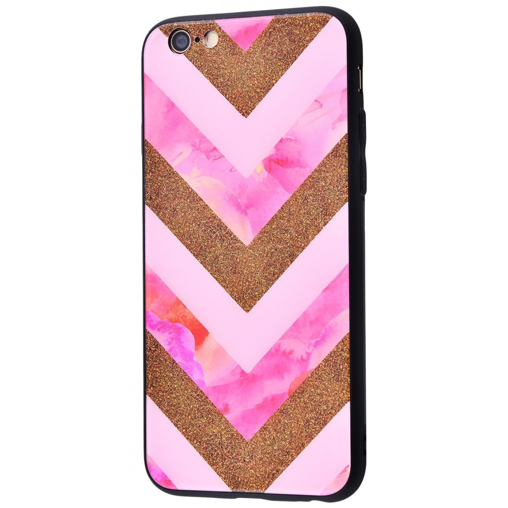 Marble High quality Case (Tempering glass+TPU) iPhone 6/6s